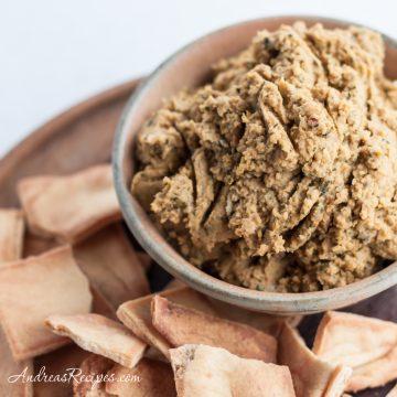 Pesto Hummus - Andrea Meyers
