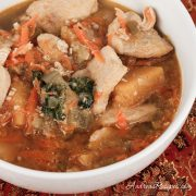 Moroccan Chicken Soup - Andrea Meyers