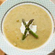 Creamy Asparagus Soup - Andrea Meyers