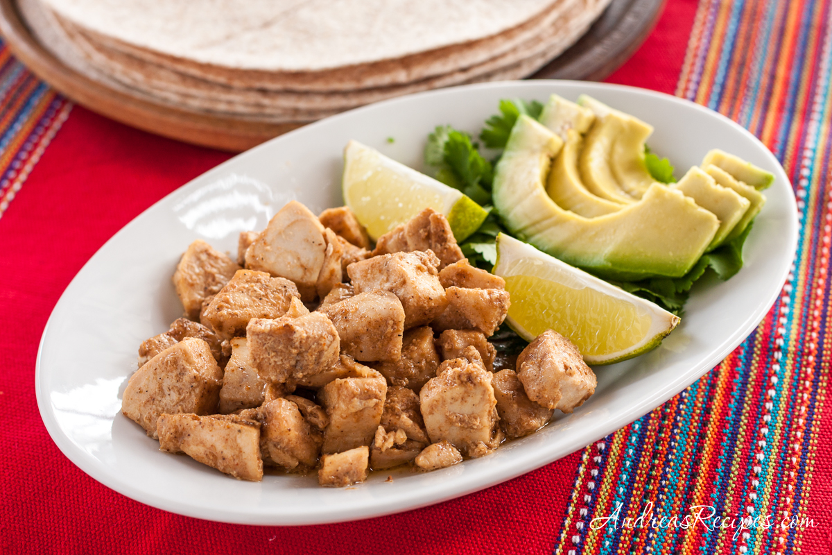 Fast Fish Tacos with Spicy Chipotle Seasoning - Andrea Meyers