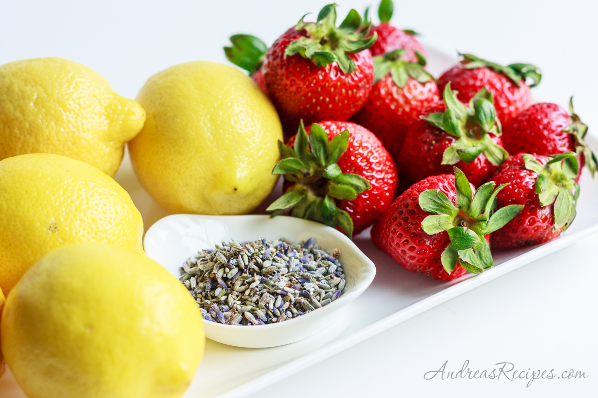 Strawberries, lemons, and lavender - Andrea Meyers