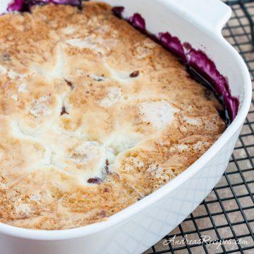 Blueberry Pudding Cake - Andrea Meyers