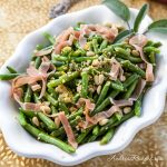 French Green Beans with Prosciutto and Pine Nuts - Andrea Meyers