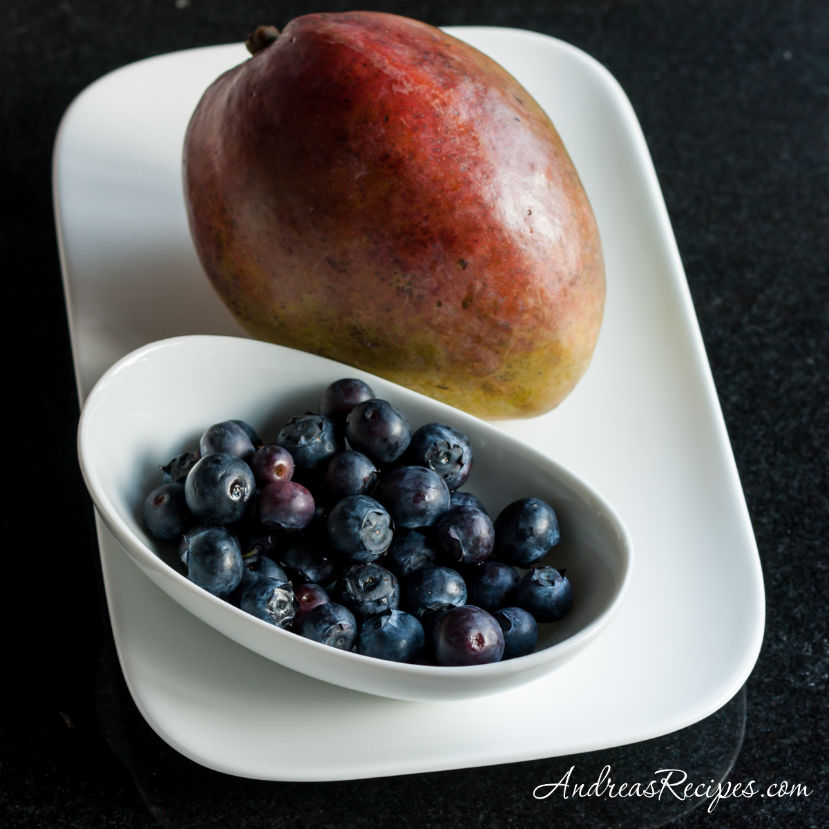 Mango and blueberries - Andrea Meyers