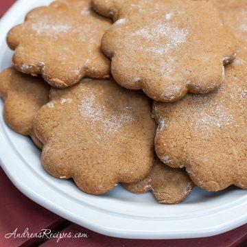 Joe Froggers (New England Molasses Cookies) - Andrea Meyers