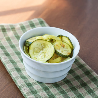 Zucchini Pickles Recipe - Andrea Meyers
