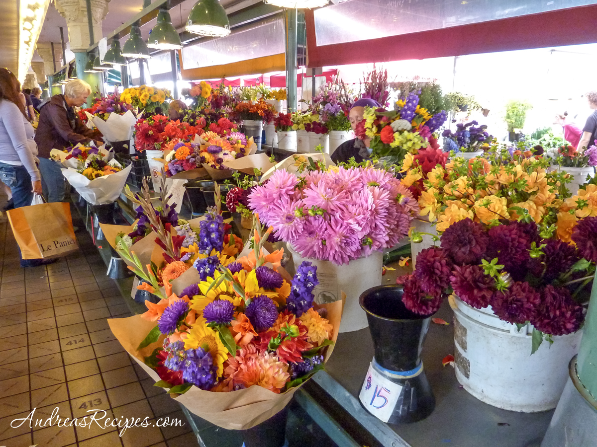 Flowers at Pike Place Market, Seattle - Andrea Meyers
