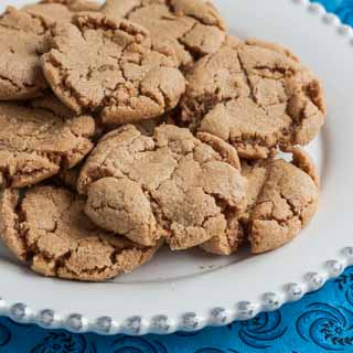 Peanut Butter Cookies Recipe from Mouse, Cookies, and More - Andrea Meyers