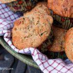 Whole Wheat Zucchini Muffins with Greek Yogurt - Andrea Meyers