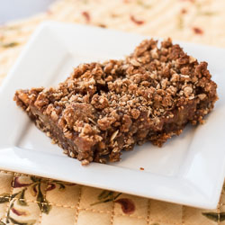 Caramel Apple Crumb Bars Recipe - Andrea Meyers