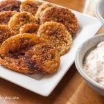 Fried Green Tomatoes with Chipotle Sour Cream - Andrea Meyers