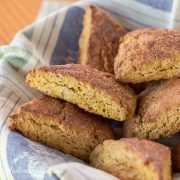 Gluten-Free Pumpkin Scones - Andrea Meyers