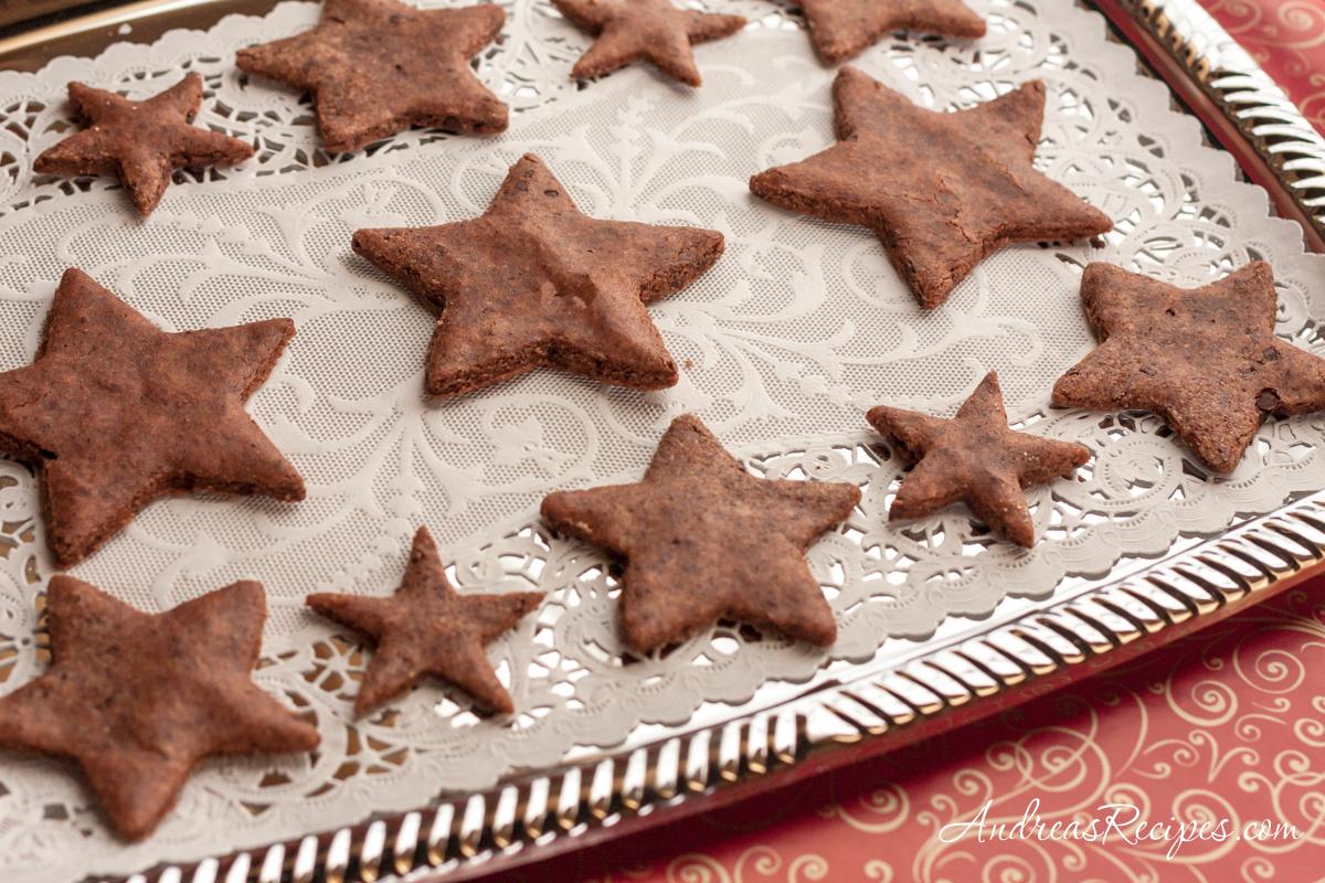Basler Brunsli Cookies - Andrea Meyers