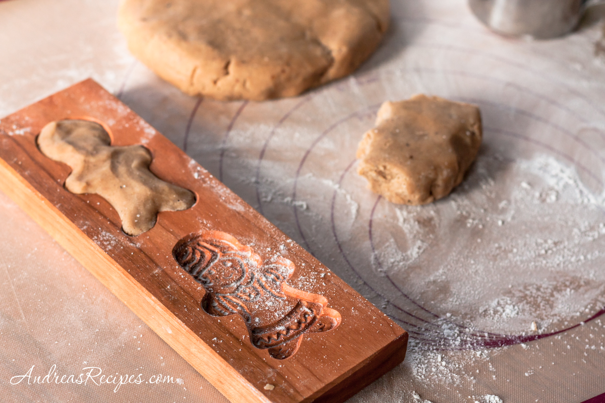 Making Speculaas (Molded Ginger Cookies) - Andrea Meyers