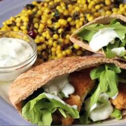 Greek Chicken Sandwich (Tyson Chicken Sandwich Challenge for Charity)