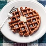 Honey Cinnamon Whole Wheat Waffles - Andrea Meyers