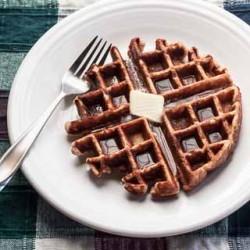 Honey Cinnamon Whole Wheat Waffles Recipe - Andrea Meyers