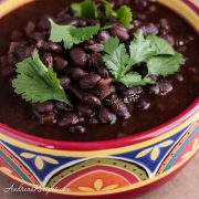 Spicy Mexican Black Beans - Andrea Meyers