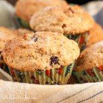 Whole Wheat Cranberry Orange Ricotta Muffins - Andrea Meyers