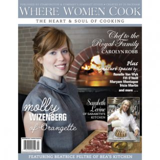 Where Women Cook cover, March 2011