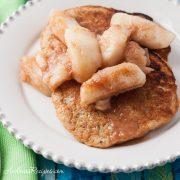 Whole Wheat, Oatmeal, and Banana Pancakes - Andrea Meyers