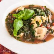 Spinach and Tortellini Soup - Andrea Meyers