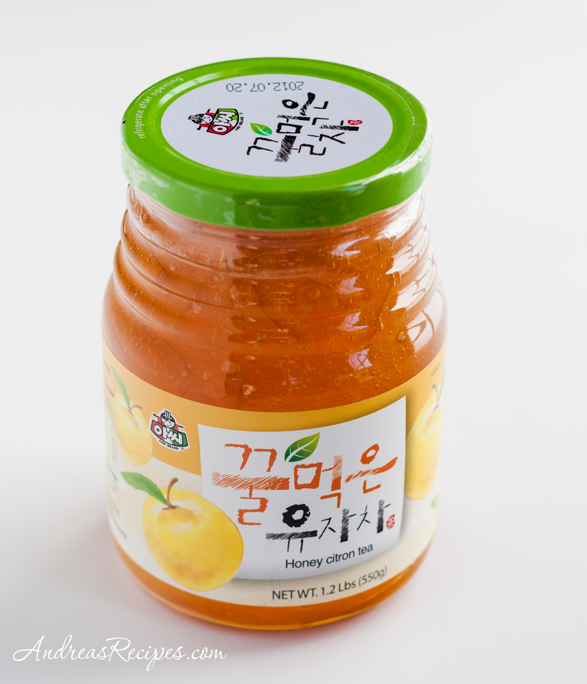 Jar of Korean citron tea - Andrea Meyers