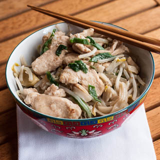 Chicken Chow Fun Recipe (The Kids Cook Monday) - Andrea Meyers