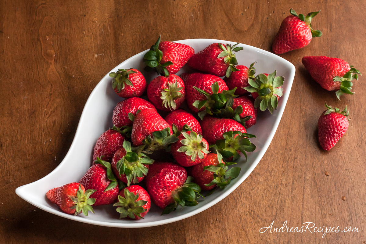 Strawberries in a dish - Andrea Meyers