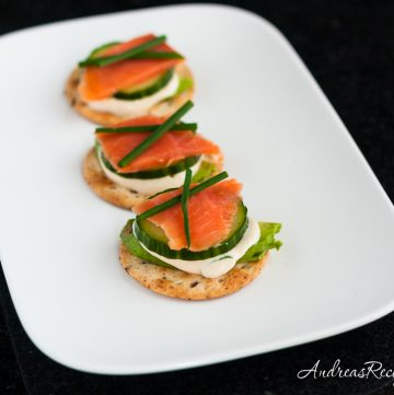Sushi on a Cracker with Tamari Ginger Dip - Andrea Meyers