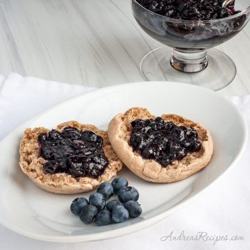 Blueberry Butter - Andrea Meyers