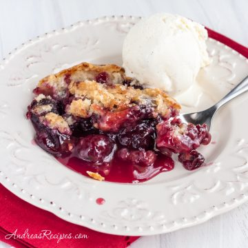 Cherry Pudding Cake - Andrea Meyers