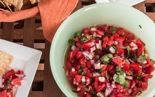 Salsa Fresca (The Kids Cook Monday)