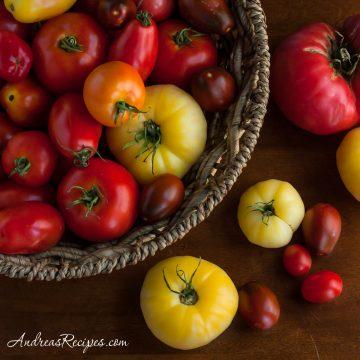 Tomato harvest - Andrea Meyers
