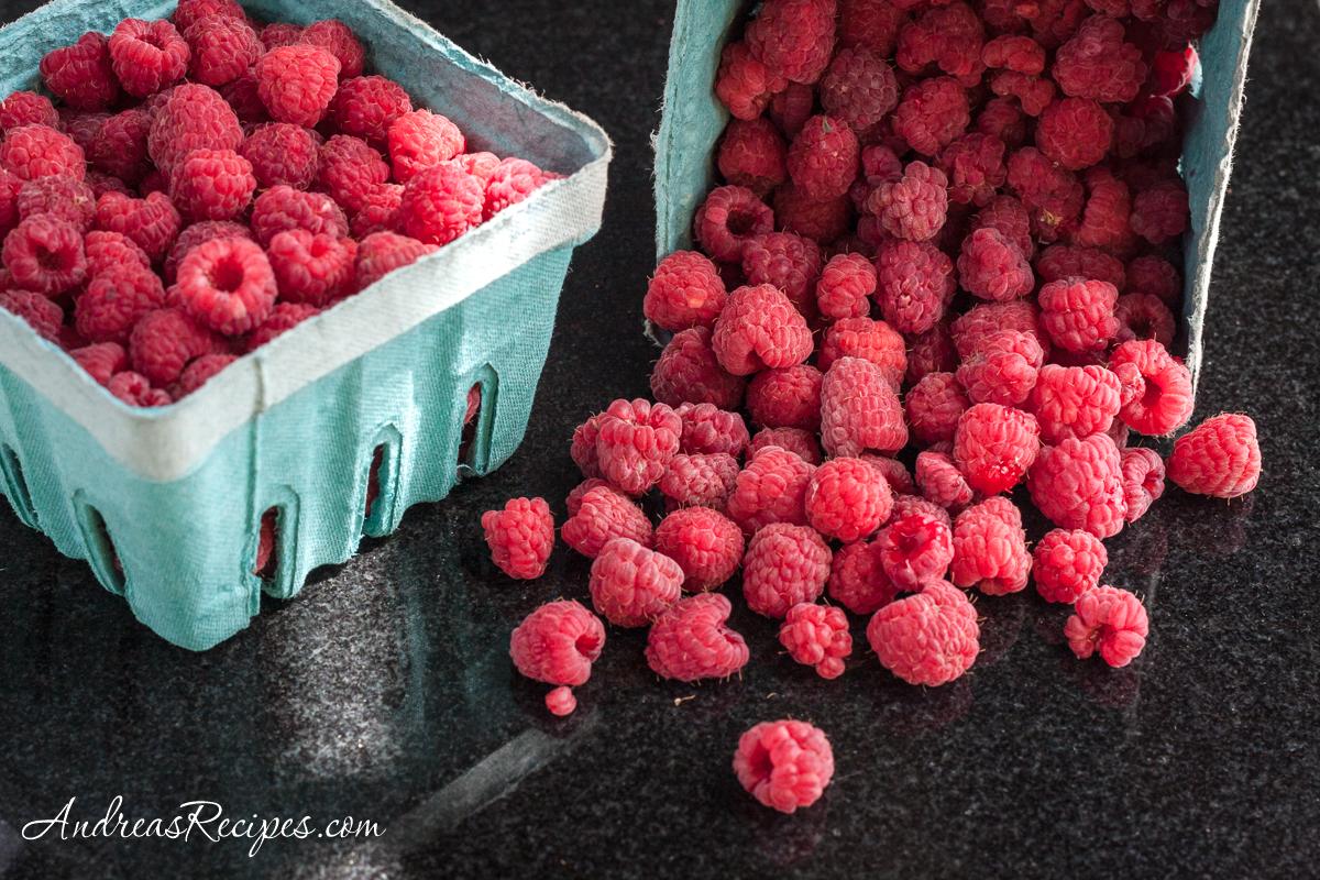 Wegmeyer Farms raspberries - Andrea Meyers