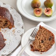 Fig Bundt Cake with Honey Butter Glaze - Andrea Meyers