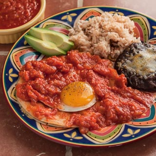 Huevos Rancheros Recipe (The Kids Cook Monday) - Andrea Meyers