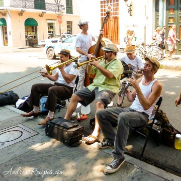 Musicians in New Orleans - Andrea Meyers
