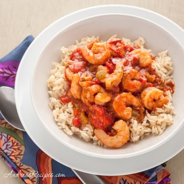 Shrimp Creole - Andrea Meyers