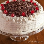 Black Forest Cake (Schwarzwälder Kirschtorte) - Andrea Meyers