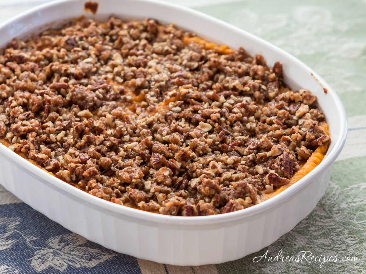 Sweet Potato Souffle - Andrea Meyers