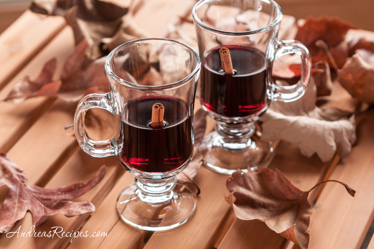 Sarah's Patio Mulled Wine - Andrea Meyers