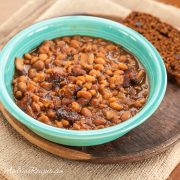 Slow Cooker Boston Baked Beans - Andrea Meyers