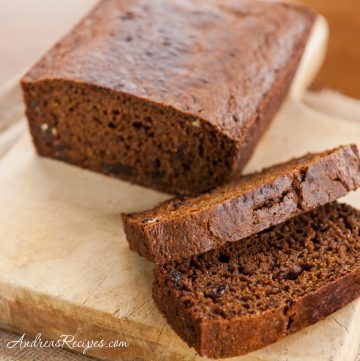 Baked Boston Brown Bread - Andrea Meyers