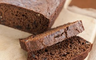 Baked Boston Brown Bread