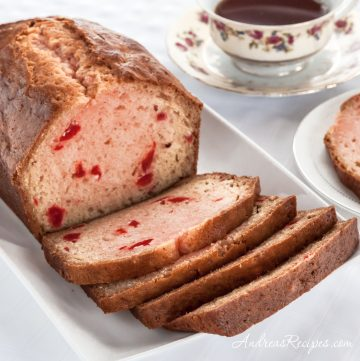 Maraschino Cherry Bread - Andrea Meyers