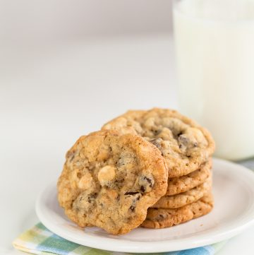 Chocolate Chip Oatmeal Cookies - Andrea Meyers