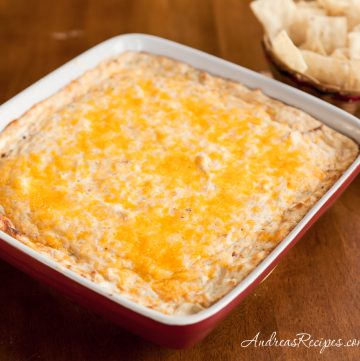 Hot and Spicy Crab Dip - Andrea Meyers
