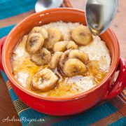Banana Maple Grits - Andrea Meyers