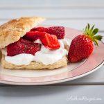 Brown Sugar Strawberry Shortcakes - Andrea Meyers